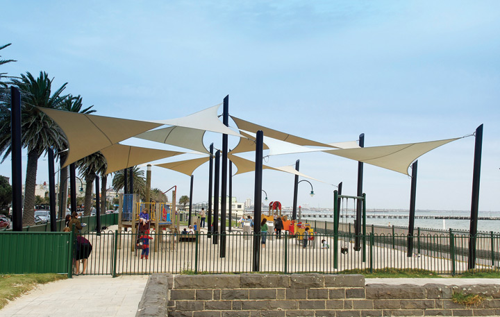Trivantage one stop resource for sun shade sails and for Sun shade structure