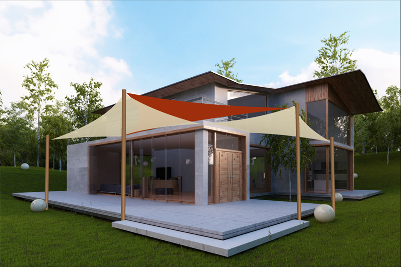 Create Shade Sail Designs In Awning Composer