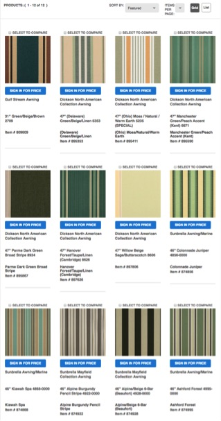 Filter: Green dominant/beige secondary