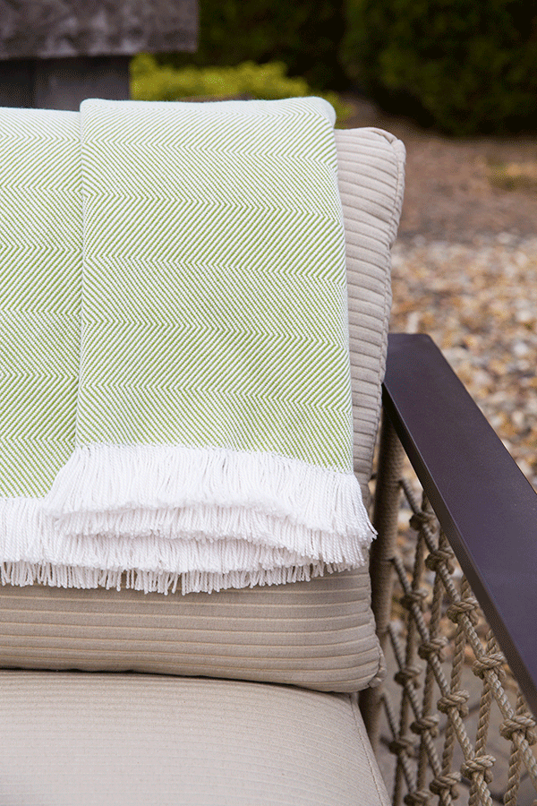 Sunbrella® Throws: New Showroom Cash-and-Carry Product | Market Corner